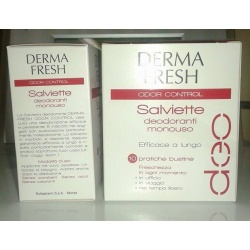 DERMAFRESH ODOR CONTROL 10SALVIETTE