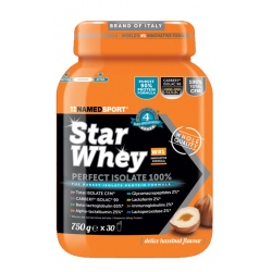 STAR WHEY PERFECT ISOLATE 100% DELICE HAZELNUT 750 G