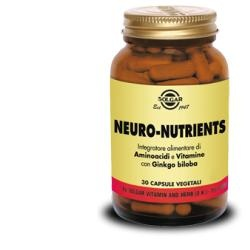SOLGAR NEURO NUTRIENTS 30CPS VEGETALI